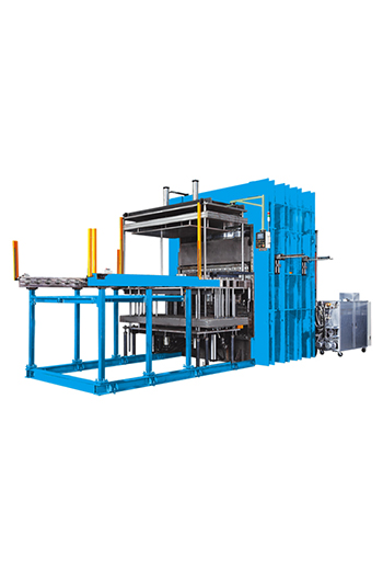 Jumbo Vacuum Vulcanizing Machine